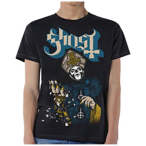 ROCK OFF Ghost - Papa Of The World (T-Shirt Unisex Tg. L)