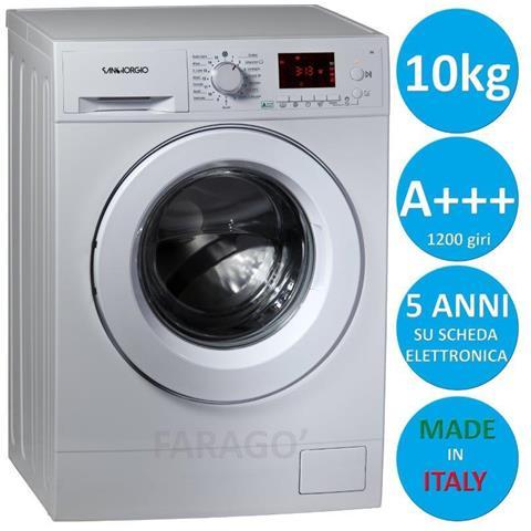 Lavatrice 10 Kg 1200 Giri A+++