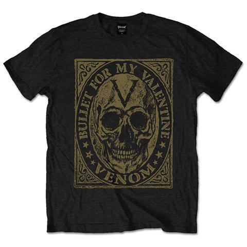 ROCK OFF Bullet For My Valentine - Venom Skull (T-Shirt Unisex Tg. M)