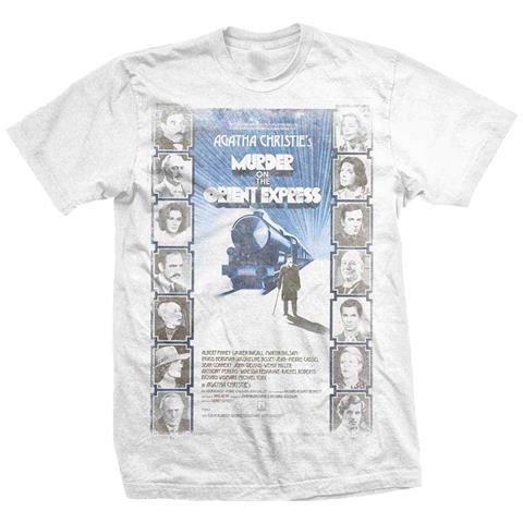 ROCK OFF Studiocanal - Murder On The Orient Express (T-Shirt Unisex Tg. L)
