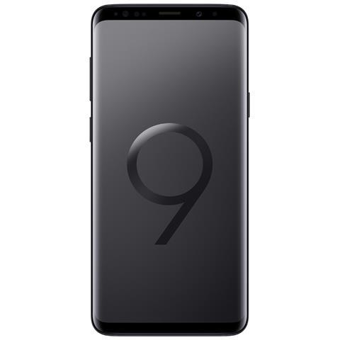 """Galaxy S9+ Nero 64GB 4G Dual Sim Impermeabile Display 6.2"""" Quad HD Slot MicroSD Fotocamera..."""