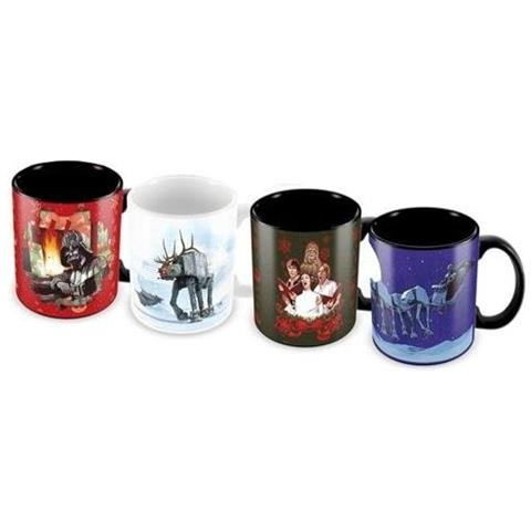 Tazza Star Wars Mini Mug 4 Pack Christmas