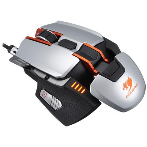 Image of 700M USB Laser 8200DPI Mano destra Argento mouse