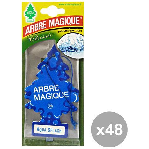 Arbre Magique Set 48 Deodorante Aqua Selv-felce Africana Accessori Auto