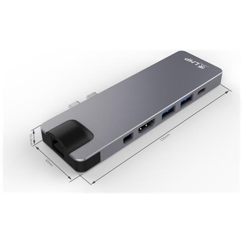 Docking Station 4 K 8 Porte HDMI / USB 3.0 / Mini-DP / Ethernet