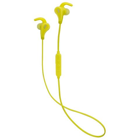 JVC HA-ET50BT Auricolare Stereofonico Bluetooth Giallo auricolare per telefono cellulare