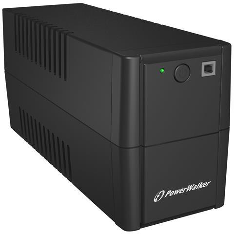 Gruppo di Continuità UPS VI 850 SH 850 VA / 480 W 2 Prese Schuko 1 Porta USB 2.0 Colore Ne...