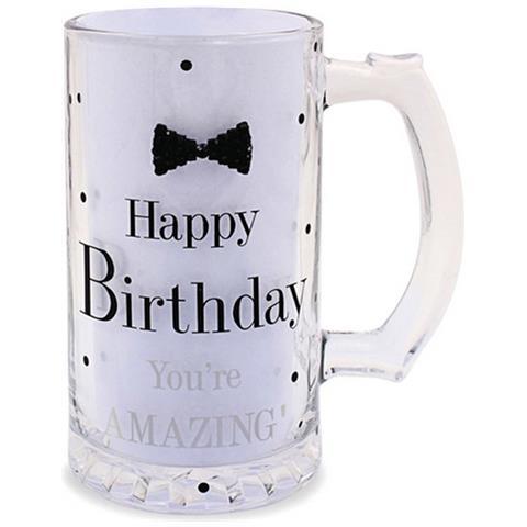 Lesser Pavey Boccale Da Birra A Pois Per Compleanno (scritte In Inglese) (taglia Unica) (happy Birthday)
