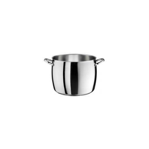 PINTI INOX Pentola Acciaio Inox - Diametro 18 cm - Linea Fusion