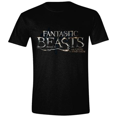 TimeCity Fantastic Beasts And Where To Find Them - Logo Black (T-Shirt Unisex Tg. M)