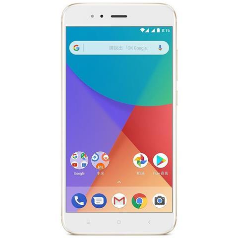 """XIAOMI Mi A1 Oro 32 GB 4G / LTE Dual Sim Display 5.5"""" Full HD Slot Micro SD Fotocamera 12 Mpx Android Italia"""