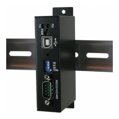 EXSYS EX-1311VIS, RS-232/422/485, USB 2.0, Maschio / femmina, Nero, -20 - 85 °C, 5 - 95%