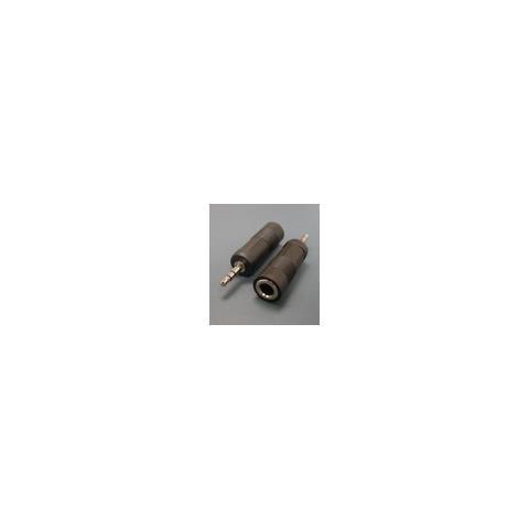 Microconnect AUDALT 3.5mm 6.3mm Nero cavo di interfaccia e adattatore