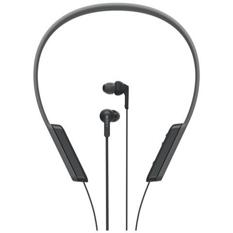 SONY Cuffie Intrauricolari con Microfono senza Filo MDRXB70BTB Bluetooth Colore Nero
