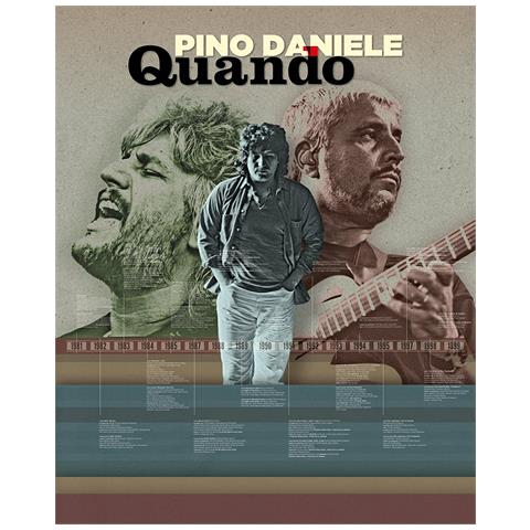 WARNER MUSIC Pino Daniele - Quando (7 Cd)