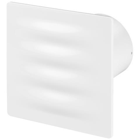 125mm Standard Aspiùatore Bianca Abs Pannello Frontale Vertico Parete Soffitto Ventilatore