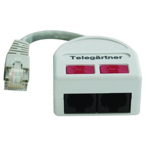 Telegärtner J00029A0006 Bianco cavo di interfaccia e adattatore