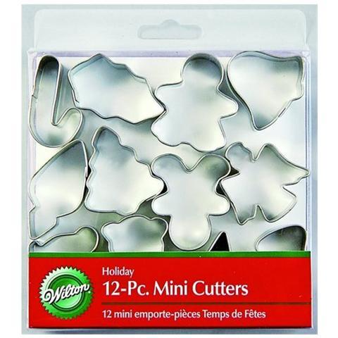 Set 12 Mini Tagliapasta Natalizi