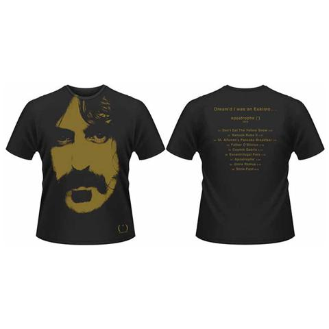 PHM Frank Zappa - Apostrophe All Over Print (T-Shirt Unisex Tg. M)