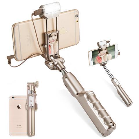AGM Selfie Stick Per Android + Ios (oro)