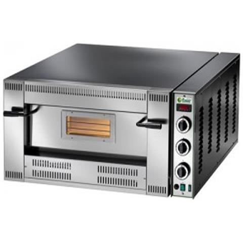 Forno pizzeria a gas camera singola cm. 62x62x15,5h.