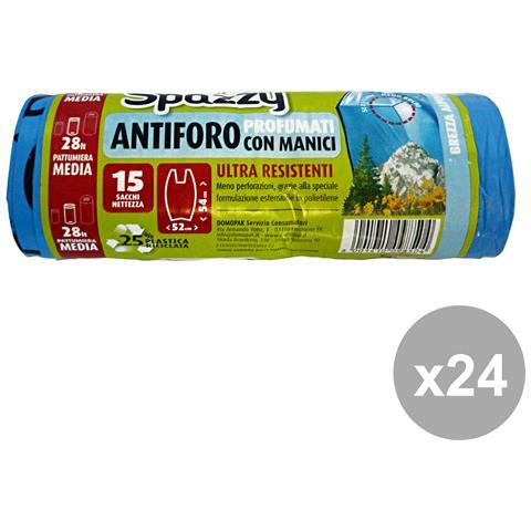 Spazzy Set 24 52x54 Antiforo Con Maniglie Brezza Alp. x 15 Pezzi Spazzy Riordino