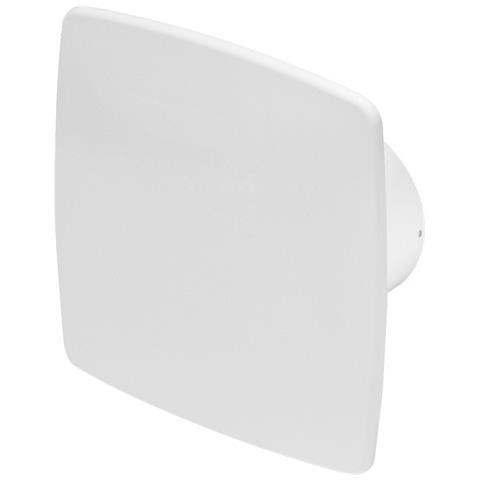 125mm Timer Aspiùatore Bianca Abs Pannello Frontale Nea Parete Soffitto Ventilatore
