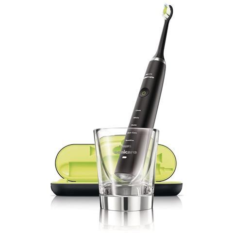 Philips Spazzolino Elettrico Ricaricabile a 5 modalità HX9352/04 Sonicare Diamond Clean