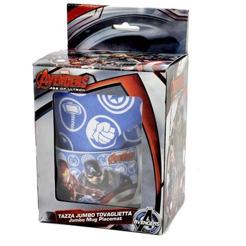 Avengers Tazza con Tovaglietta