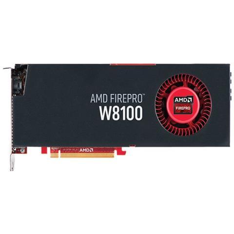 Image of AMD FirePro W8100, 8192 MB GDDR5, 4x DP, 1x SDI