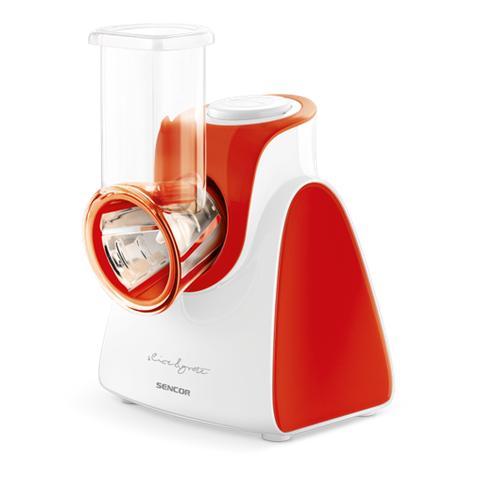 Affettatrice E Grattuggia SSG 3504RD Diametro 56mm 5 Accessori Inclusi Potenza 150W Colore Rosso