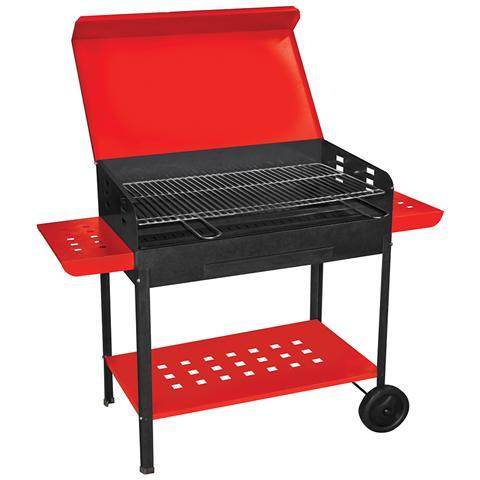 Barbecue A Carbonella Con Griglia In Acciaio 517b