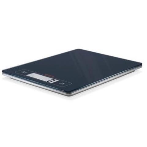 67080 Bilancia da Cucina Digitale Ultrapiatta Portata 15 Kg Colore Nero