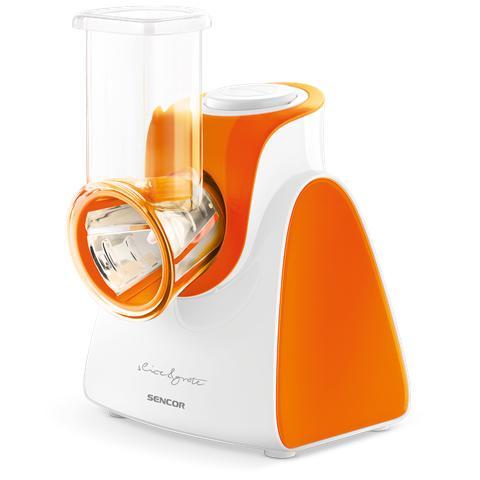 Affettatrice E Grattuggia SSG 3503OR Diametro 56mm 5 Accessori Inclusi Potenza 150W Colore Arancio
