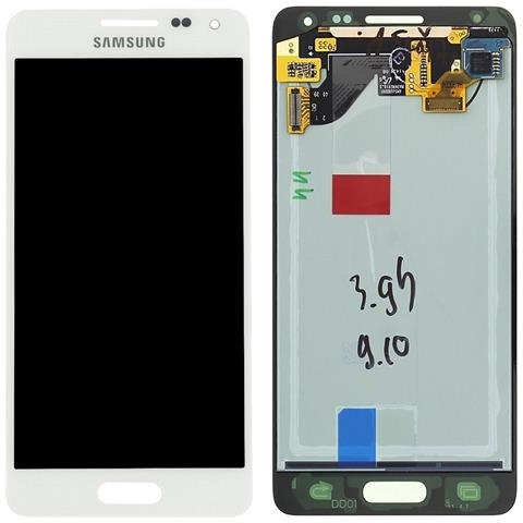 Image of Display Schermo Lcd Touch Screen Originale Bianco Samsung Galaxy Alpha Sm-g850