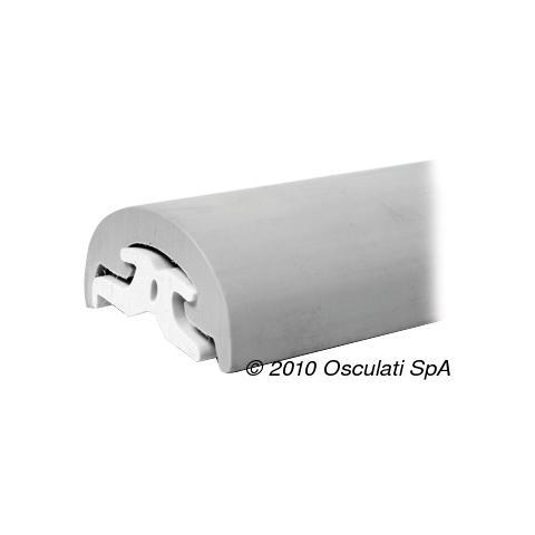 Solo profilo PVC 40 mm grigio