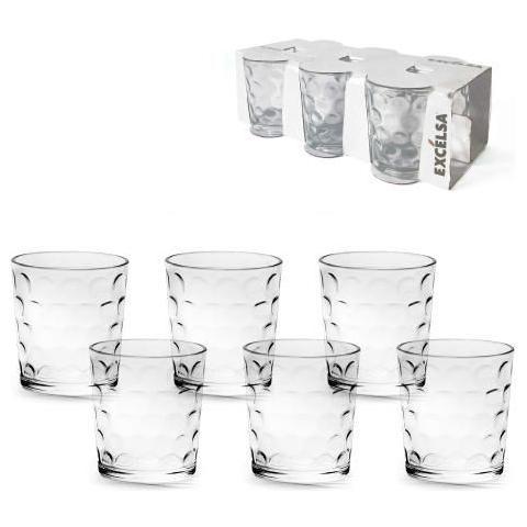 Ktn 6 Bicchieri Parigi Trasparente 26