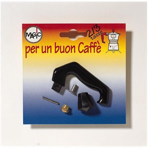 Manico Valvola E Pomello Per Caffettiera 2/3 Tazze