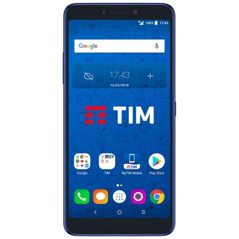 """TIM XL (2018) Blu 16 GB 4G / LTE Display 6"""" Full HD+ Slot Micro SD Fotocamera 16 Mpx Android Tim Italia"""