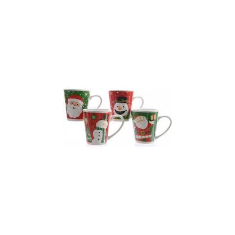 Mug Ceramica Cm. 9x10x13 4ass.