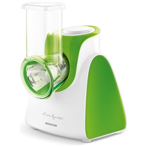 Affettatrice E Grattuggia SSG 3501GR Diametro 56mm 5 Accessori Inclusi Potenza 150W Colore Verde