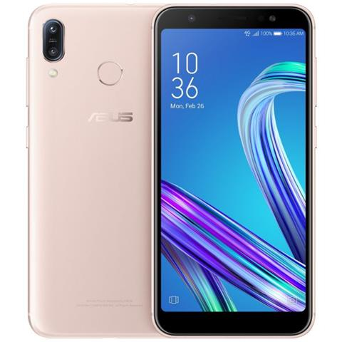 Zenfone Max Oro Dual Sim Display 5.5'' HD Quad Core Ram 3GB Storage 32GB Wi-Fi + 4G Lte Fotocamera 13Mp Android - Europa