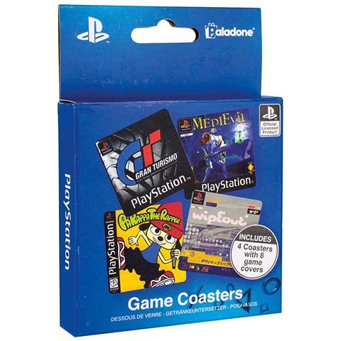 Playstation - Game (set Sottobicchieri)