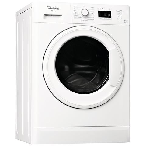 WHIRLPOOL Lavasciuga WWDE8614 Classe A Capacità Lav / Asc 8/6 Kg Velocità 1400 Giri Colore Bianco