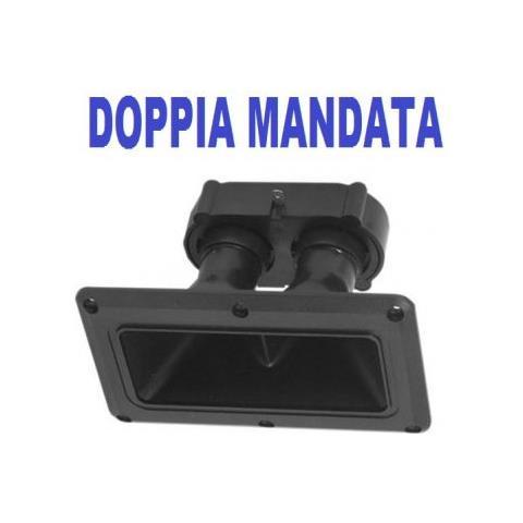 Plug & Sound Tweeter Piezo Elettrico Dual Doppia Mandata Acuto Driver X Casse