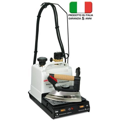 DPE - OLIMPIC La Stireria 3.0 Ferro da Stiro con Caldaia Professionale Potenza 1780 W Colore Bianco