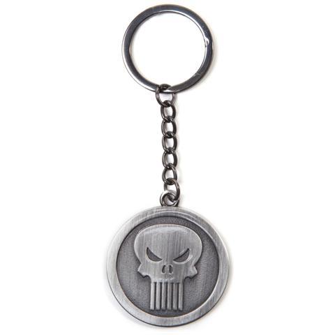 BIOWORLD Marvel - Punisher Silver (Portachiavi In Metallo)