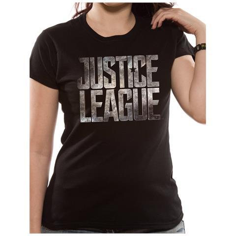 CID Justice League Movie - Logo (T-Shirt Unisex Tg. L)