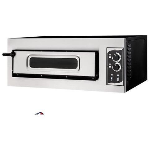 Forno elettrico meccanico per pizzeria - pizza ø32 cm - dimensioni esterne 91.5x69x35.7 cm con vetro