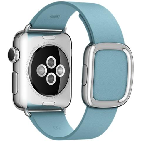 APPLE Cinturino Moderno da 38 mm per Apple Watch Colore azzurro fiordo - Medium